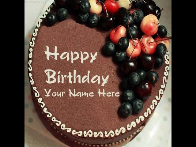 Write Name On Birthday Cake With Name Clipzui