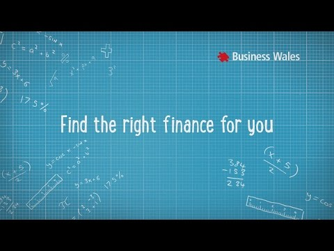 Welsh Government - Business Wales - Finance
