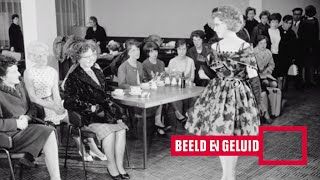 Teenager-modeshow in Amsterdam (1962)