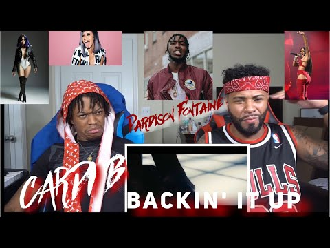 CARDI DISSING NICKI Pardison Fontaine Backin' It Up (feat. Cardi B) [Official Video] | FVO Reaction
