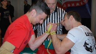Чемпионат Беларуси по армрестлингу 2015 65 кг левая рука