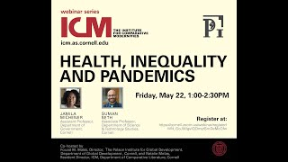 Health, Inequality and Pandemics:  A Panel Discussion with Jamila Michener and Suman Seth