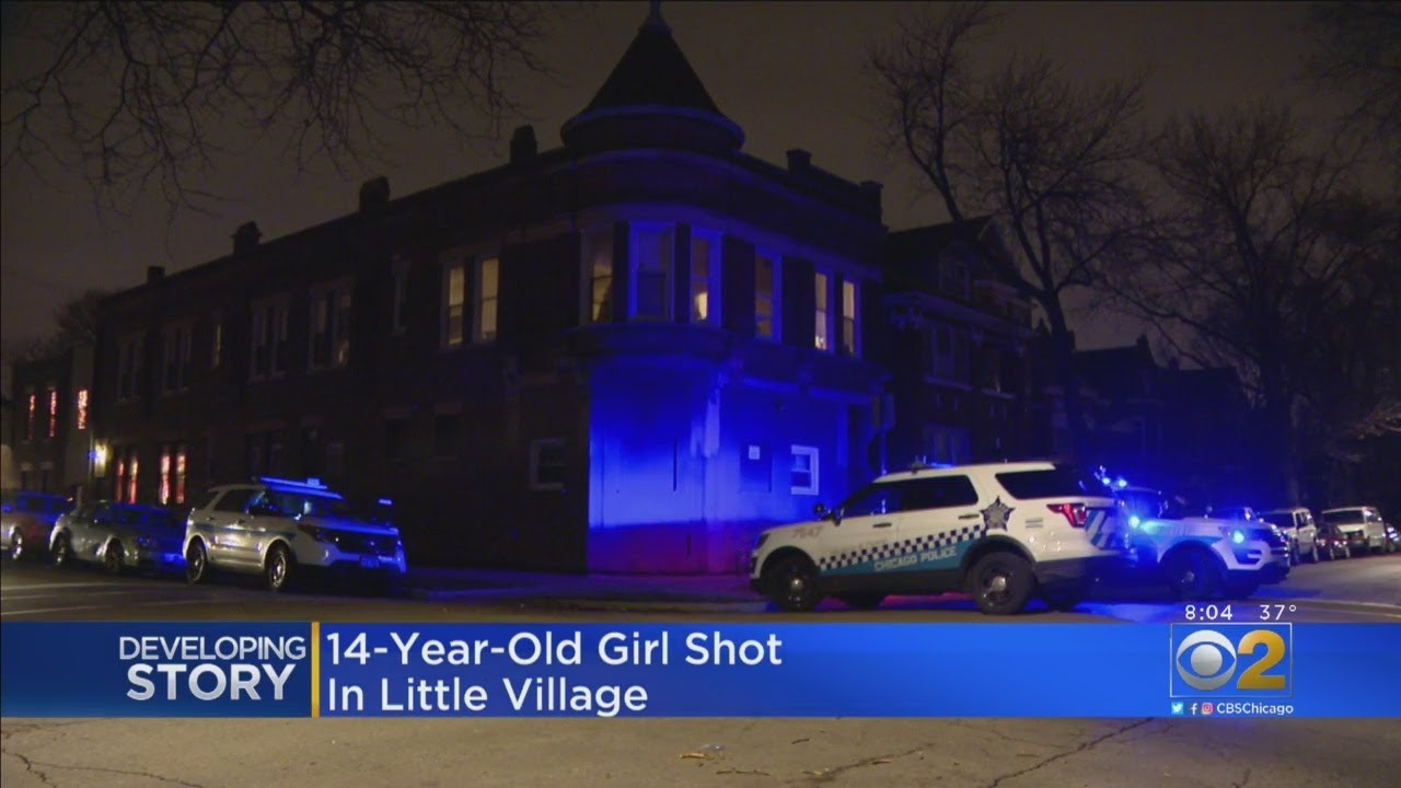 Girl, 14, Shot In Little Village