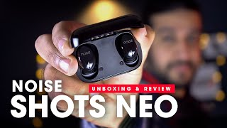 Noise Shots NEO TWS Earbuds Review!! Best True Wireless Bluetooth Earphones (Hindi)