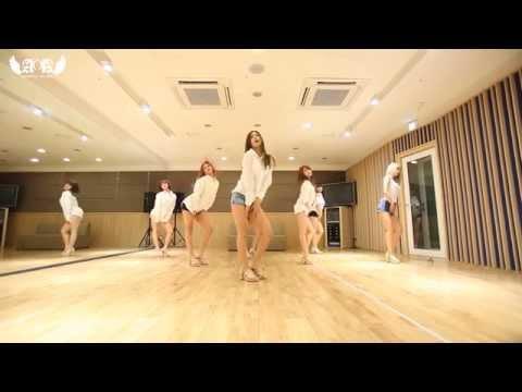 AOA - Confused Dance Practice Mirror