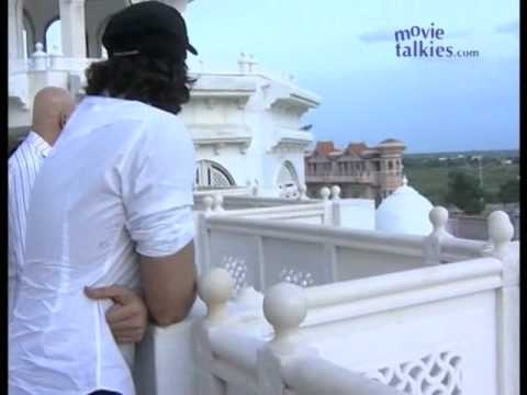Hrithik Roshan spends some time in serenity at Oneness University in Chennai