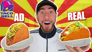 ADS VS REALITY EXPERIMENT! (INSANE RESULTS)
