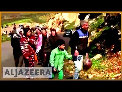 🇸🇾 Air raids 'kill 30' in Eastern Ghouta as 'hundreds' more flee | Al Jazeera English