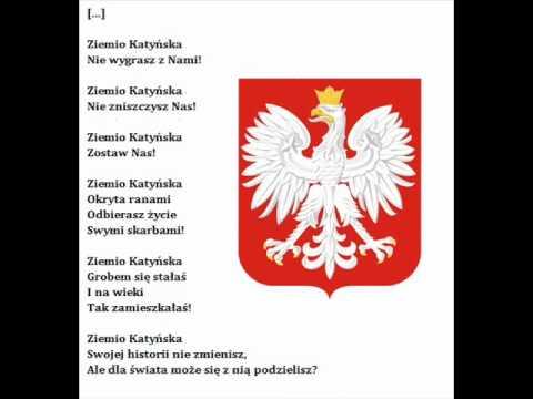 Wiersz Ziemia Katyńska