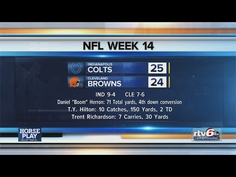 Watch: Horse Play Colts talk, 12-8