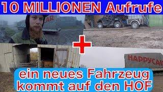 FarmVLOG#169 - 10 Millionen Aufrufe + ein neues Fahrzeug kommt auf den HOF