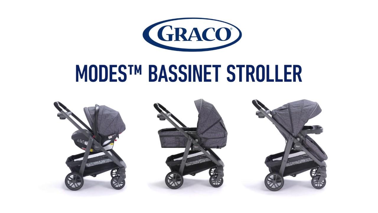 Graco Modes Bassinet Stroller Youtube