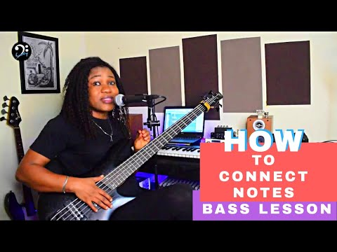 How To Connect Notes Within Chord Changes | Bass Lesson