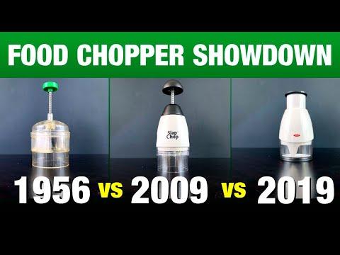 Food Chopper Showdown! 1956 Vs 2009 Vs 2019