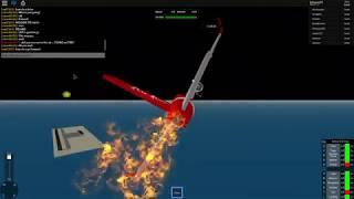 flying an airasia....... on FIRE!!! | roblox SFS flight simulator