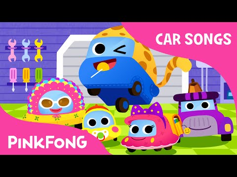 Vroom Vroom Family | Car Songs | PINKFONG Songs for Children