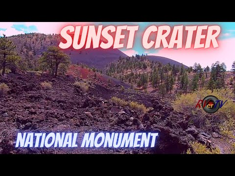 Sunset Crater Volcano National Monument - Flagstaff Arizona - Coconino National Forest