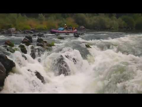 Rogue River - Rainy Falls center chute