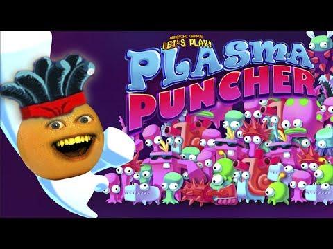 Annoying Orange Plays - Plasma Puncher