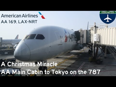 A Christmas Miracle - American Airlines To Tokyo On The 787 (AA169, LAX-NRT)