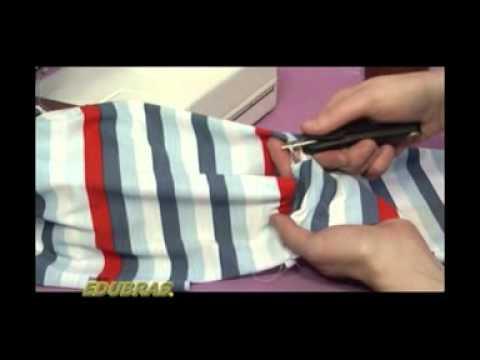 Como fazer uma Camisa Polo Infantil  (Curso Online ou DVD EDUBRAS)