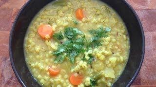 How To Make Veg Barley Soup - Vegetable Barley Soup Recipe
