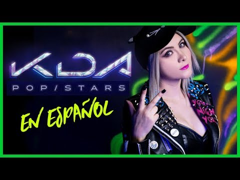 K/DA - POP/STARS (EN ESPAÑOL) | GRET ROCHA | League of Legends