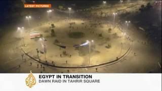 Dawn raid in Tahrir Square