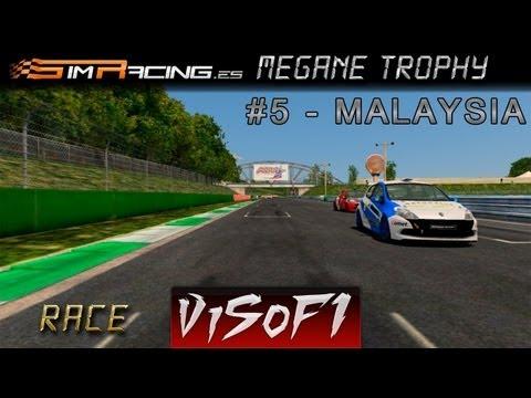 rFactor 2 | SRS Megane Trophy 2013 | #5 Malaysia Race