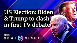 US Presidential debate: What can we expect from the first TV debate? – BBC Newsnight