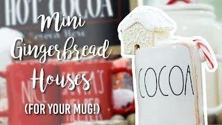 DIY Coffee Cup Gingerbread (Sugar Cookie) Houses!!
