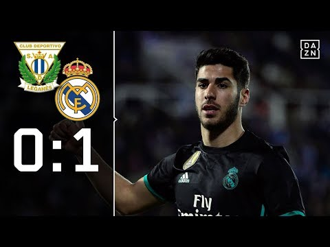 Asensio wendet Blamage ab: CD Leganes - Real Madrid 0:1 | Highlights | Copa del Rey | DAZN