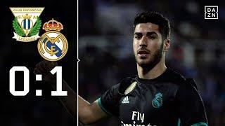 Asensio wendet Blamage ab: CD Leganes - Real Madrid 0:1 | Highlights | Copa del Rey | DAZN