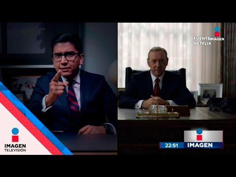 Alcalde de Tlaxcala plagió discurso de House of Cards| Noticias con Ciro Gómez Leyva