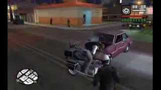 GTA San Andreas - acquiring a Slamvan (after Sweet