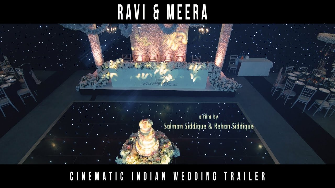 Reception of Ravi & Meera - Cinematic Teaser Trailer - 2018 London