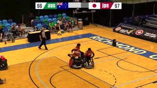 2018 Wheelchair Rugby Canada Cup | Australia vs Japan | June 14