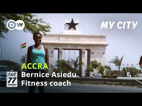 Join Ghanaian Fitness Coach Bernice Asiedu In Accra