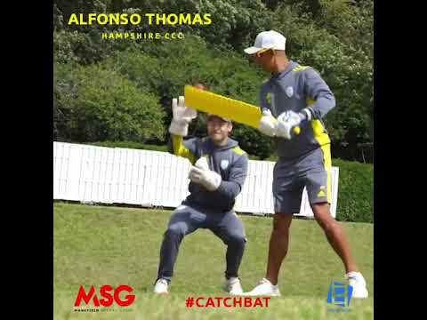 Alfonso Thomas with CatchBat