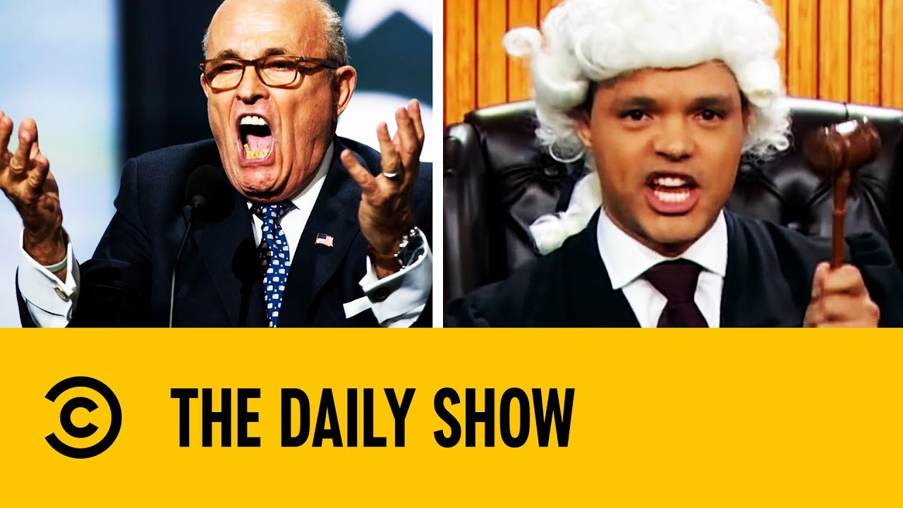 Trevor Noah Roasts Rudy Giuliani | The Daily Show With Trevor Noah