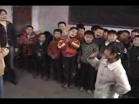 3rd Graders at Huxian School, China - Part 2