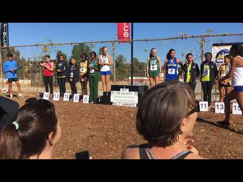 Girls D1 Individual Awards-2017 CIF LA City XC Championships (Results in Description)