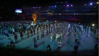 Rugby World Cup 2011 | Opening Ceremony | Vid 2 of 4 (HQ)