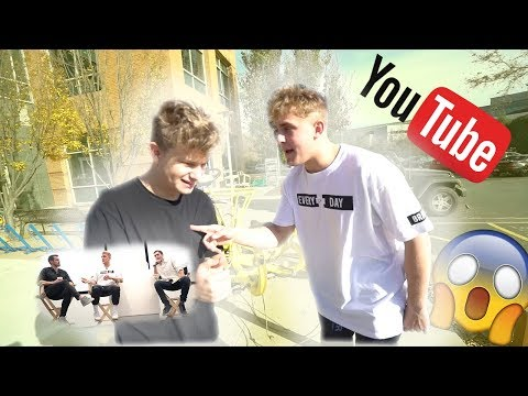Jake Paul and I had a Top secret meeting at YouTube headquarters