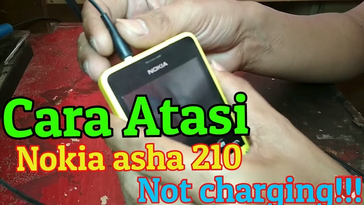 Nokia Asha 210 Not Charging Tidak Bisa Cas Youtube