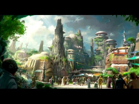 Thumbnail: Disney Imagineers reveal details of DIsneyland's Star Wars Land