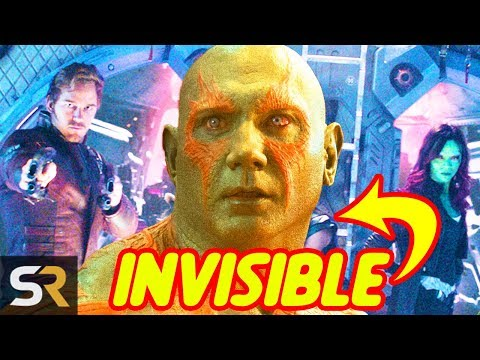 This Is Why Drax Thought Being Still Makes Him Invisible In Infinity War