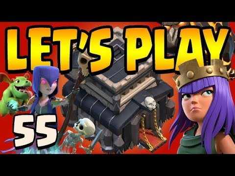 69 WALLS LEFT!  TH9 Let's Play ep55   Clash of Clans