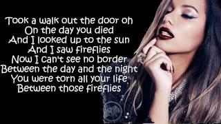 Leona Lewis - Fireflies  (Lyrics On Screen)