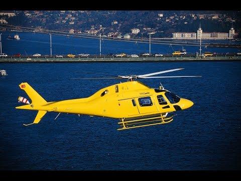 جولة الهليكوبتر .. خدمة سياحية راقية في سماء اسطنبول